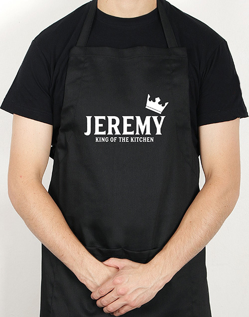 personalised: Personalised King Apron!