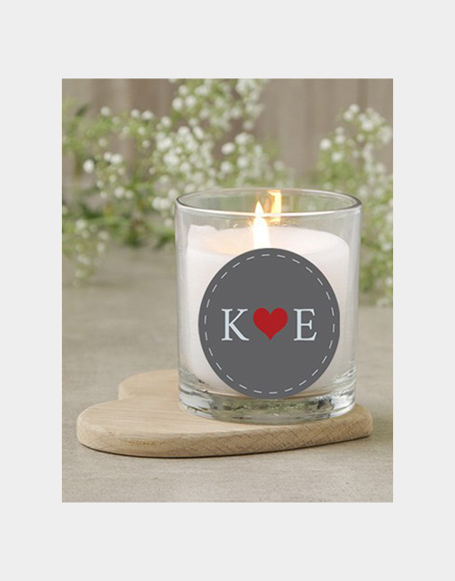 bath-and-body: Personalised Initials Candle!