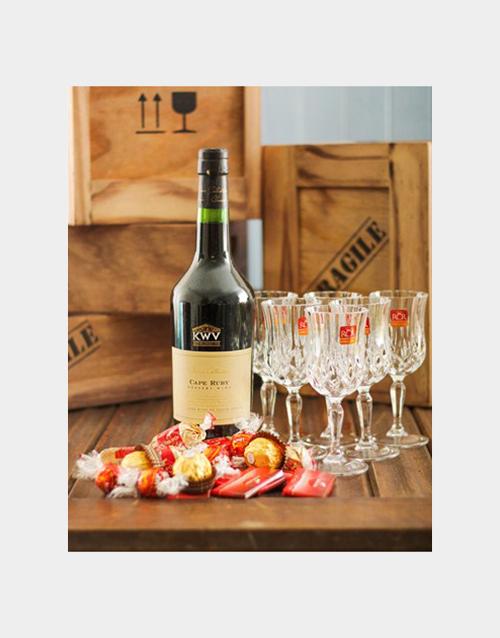 fine-alcohol: KWV Liqueur Wine and Delicious Chocolates!