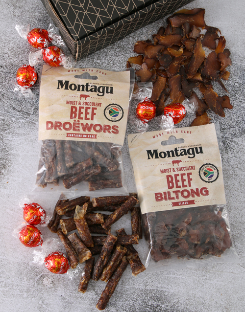 chocolate: Biltong and Chocs Treat Box!