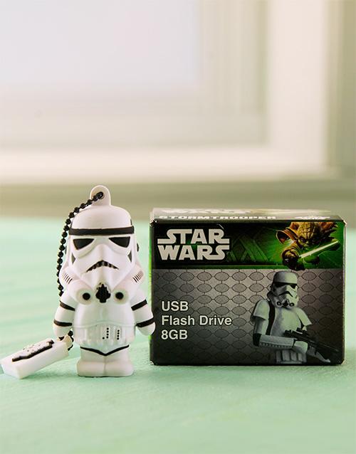 gadgets: Star Wars Storm Trooper USB Flash!