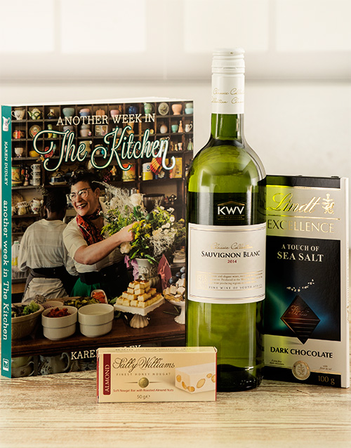 birthday: Another Week in the Kitchen with Wine Hamper!