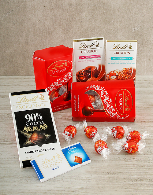 chocolate: The Lindt Chocolate Lovers Dream!