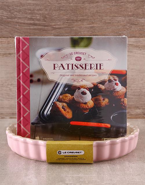 homeware: Le Creuset Fluted Flan Dish & Patisserie Cookbook!