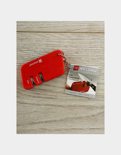 homeware: Red Knife Sharpener!