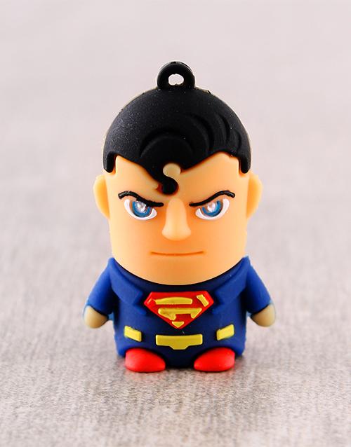 gadgets: Superman 8G USB Flashdrive!