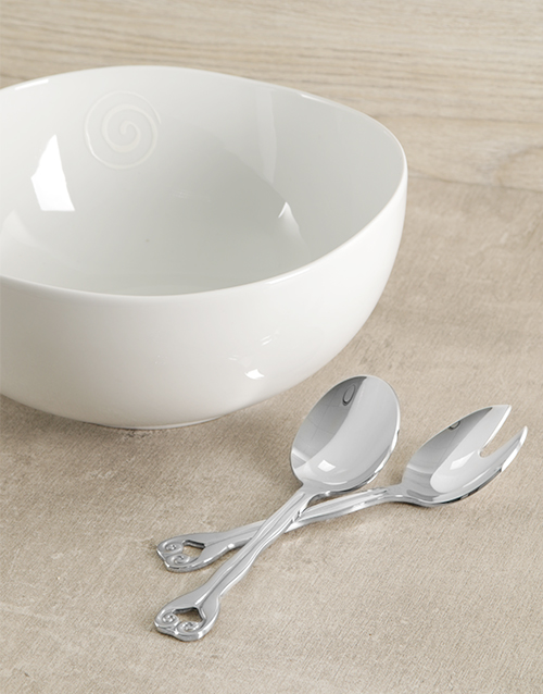 carrol-boyes: Carrol Boyes Large Salad Bowl & Servers!