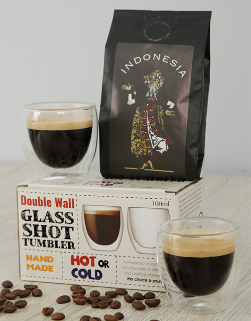 coffee-and-tea: Indonesia Coffee and Coffee Glasses Gift!