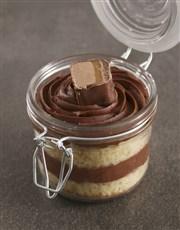 Personalised Bar One Birthday Cake Jar
