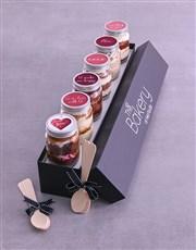 Personalised Love Cake Jars