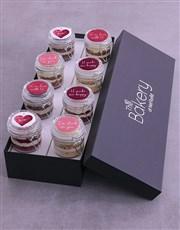 Personalised Love Cupcake Jars