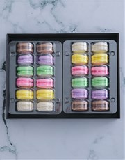 Rainbow Macaroon Selection