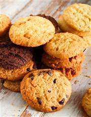 Personalised Chocfull Cookie Tin for Grandpa
