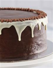 Personalised Birthday Chocolate Drip Cake
