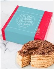 Personalised Chateau Gateaux Birthday Cake