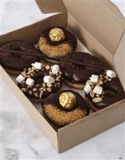 Personalised Chocolate Doughnut Box