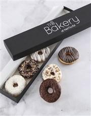 Personalised Vanilla Choc Doughnut Box