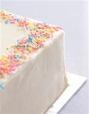 New Baby Photo Cake