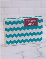 Thank You Stripy Doughnut Box