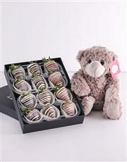 Stripy Strawberry Gift Hamper