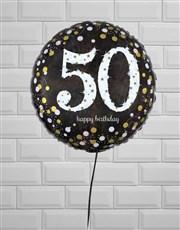 Sparkling 50th Birthday Jumbo