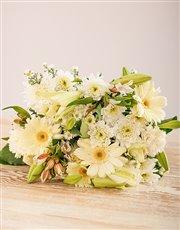 Mix of White Blossoms