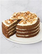 Moist, rich and fruity torte made with grated carr