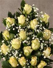 Arrangement of Cream Roses