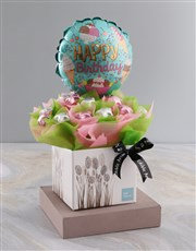Happy Birthday Chocolate Arrangement