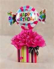 Sweet Happy Birthday Edible Arrangement