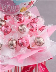 Balloons for Mom Edible arrangement