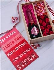 Love Language Rose Crate