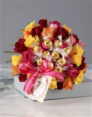 Thinking of You Autumnal Edible Arrangement