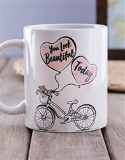 You look Beautiful Succulent Mug