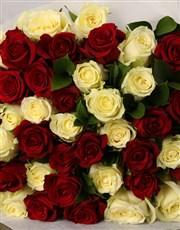 Queen of Hearts Rose Bouquet