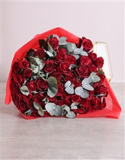 Love Me Do Red Rose Bouquet