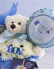 Baby Boy Pamper Hamper Arrangement