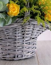 Mix It Flowers in Basket