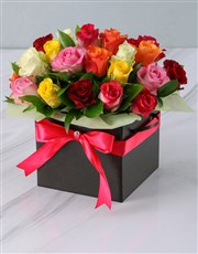 Mixed Roses in a Black Box