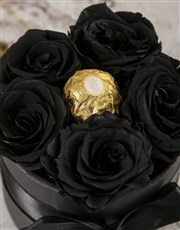 Regal Roses With a Chocolate Surprise