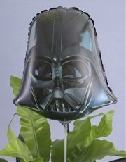 Asplenium Nidus With Darth Vader Balloon