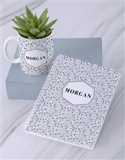 Personalised Succulent Named Mug