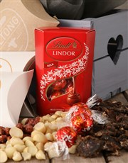 Herb with Lindt and Gourmet Treats Crate