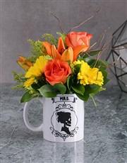 Skull Flower or Succulent Mug