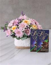 Cream Roses amongst the Stars