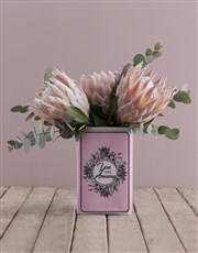 King Proteas in a Unique Tin