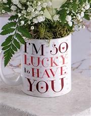 Lucky Magic Rose Mug