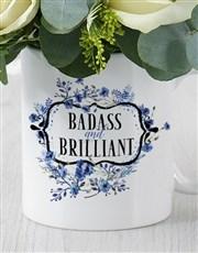 Bad ass and Intelligent Daisy Mug