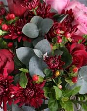 Dramatic Rose Doha Arrangement