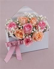 Lush Rose Blossoms